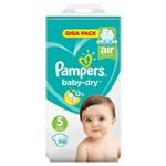 Pampers Nappies Baby Dry 5  11-16kg 108