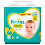 Pampers Premium Protection 8-16kg 64