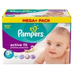 Pampers Nappies Active Fit 3+  5-10kg 80