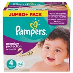 Pampers Nappies Active Fit 4  7-18kg 64