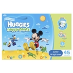 Huggies Junior Boy Nappy-Pants (14 to 18 kg) 45