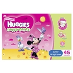 Huggies Junior Girl Nappy-Pants (14 to 18 kg) 45