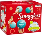 Baby Nappies: Snugglers Junior 60pk