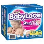 Babylove Cosifit Nappies Infant 90