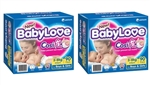 Babylove Cosifit Nappies Infant 90x2