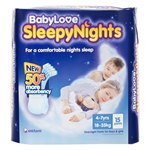 Babylove Sleepy Nights Multibuy 4-7 yrs 15pack