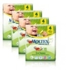 Moltex Nature n.1 eco nappies 4 MAxi 7-18kg 30x4