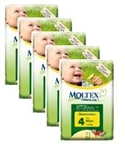 Moltex Nature n.1 eco nappies 4 MAxi 7-18kg 30x5
