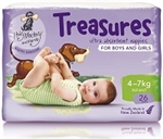 Bulk Treasures Nappies Infant Unisex 26 nappies