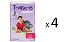 Bulk Treasures Nappies Crawler Unisex 172 nappies