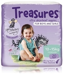 Bulk Treasures Nappies Toddler Unisex 20 nappies