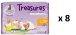 Bulk Treasures Nappies Newborn Unisex 240 nappies