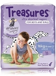 Bulk Treasures Nappies Junior Unisex 16 nappies