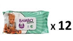 Bambo Nature Wipes MULTIBUY 960 (12 X 80pk)