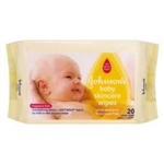 Johnson's Baby  wipes fragrance free travel pack