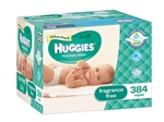 Huggies Baby Wipes Mega Pack ( 384 wipes)
