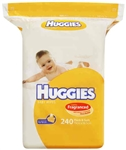 Huggies Baby Wipes Refill 240 Pack – Shea Butter