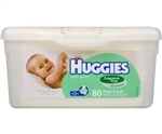 Huggies Baby Wipes Unscented Wipes Tub