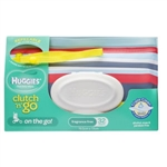 Huggies Baby Wipes Clutch 'n' Go Travel Pack - flexible case 32wipes