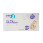 BabyU Dry Wipes 100's