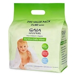 Gaia Bamboo wipes 80pk