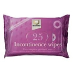 Reynard Incontinence Wipes - 25 Pack