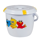 Childcare Sesame Street Nappy Bucket