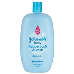 Baby bath: Johnson's Baby Bubble Bath & Wash 828ml