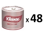 Kleenex Toilet Paper Bulk Buy 48 x 400 Sheets, 2 Ply