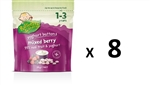 Rafferty's Garden Yoghurt Buttons for Toddlers 1-3 yrs - Mixed Berry 28gm X8