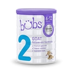 Bubs Goat Milk Follow-On Baby Formula from 6 months 800g