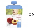 Bellamy's Organic Peach & Apple 4m+