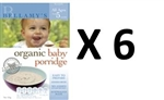 Bellamy's Organic  Baby Porridge(From 6 months) multi-buyx6