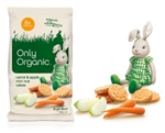 Only Organic Carrot & Apple Mini Rice Cakes
