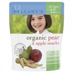 Bellamy's Organic  Apple & Pear  Snacks(From 12 months)