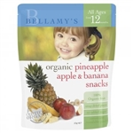 Bellamy's Organic Pineapple, Apple & Banana Snacks (From 12 months)