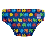 Bambino Mio Swim Nappy Blue Whale - Medium (7-9 Kg) 6-12 Mths