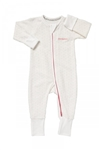 Bonds Baby Zip Wondersuit -  White/Pink Spot - Size 00