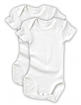 Baby Bonds Bodysuit - White Size 2