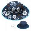 Baby Banz Reverse Hat Blue/Blue Chocolate 0-2 yrs