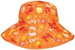 Baby Banz Reverse Hat Orange/Orange Sea 0-2 yrs