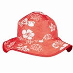 Baby Banz Reverse Hat Red/Red Turtle 0-2 yrs