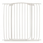 Dreambaby Safety Gate Swing Closed Hallway F191W  Chelsea Tall XTra Hallway White