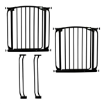 Dreambaby safety gate Chelsea White 2xF160B+2xF159B