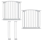 Dreambaby safety gate Chelsea White 2xF160W+2xF159W