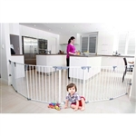 Dreambaby Royale Converta 3in1 Playpen Gate and wide barrier