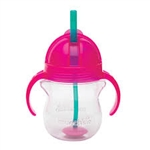 Munchkin Weighted Flexi-Straw Cup 207ml 6m+ - Pink