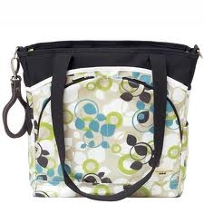 JJ Cole Collections Mode Baby Bag - Blue Vine