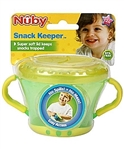 Nuby Snack Keeper 12m+ Green/Yellow