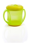 Tommee Tippee Sip n Seal Cup 4m+ 200ml - Green and Yellow